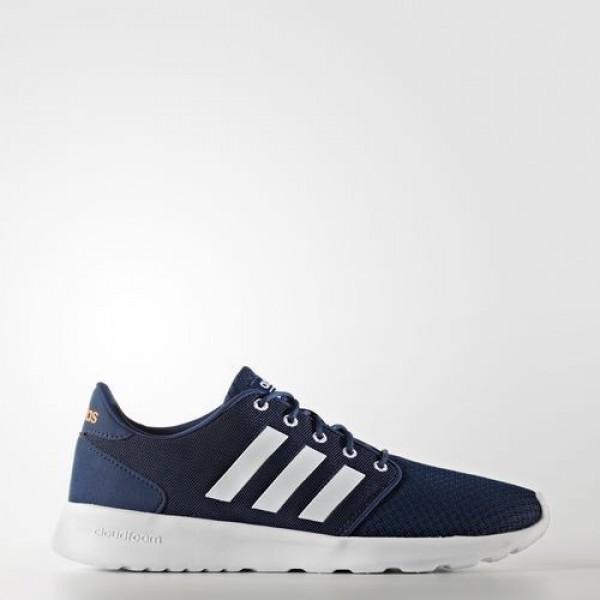 Adidas Cloudfoam Qt Racer Femme Mystery Blue/Footw...