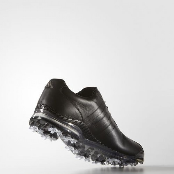 Adidas Adipure Tp Homme Core Black/Dark Silver Metallic Golf Chaussures NO: Q44674