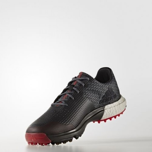 Adidas Adipower S Boost 3 Homme Onix/Core Black/Scarlet Golf Chaussures NO: Q44778