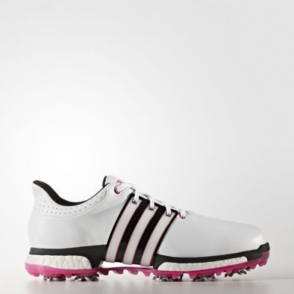 Adidas Tour360 Boost Wide Homme Footwear White/Cor...