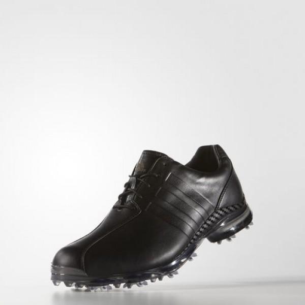 Adidas Adipure Tp Homme Core Black/Dark Silver Metallic Golf Chaussures NO: Q44674