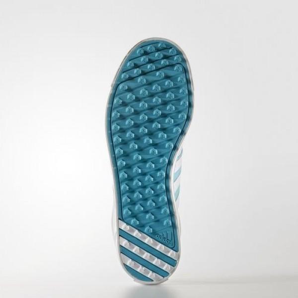 Adidas Adicross V Femme Footwear White/Blue Glow/Energy Blue Golf Chaussures NO: Q44687