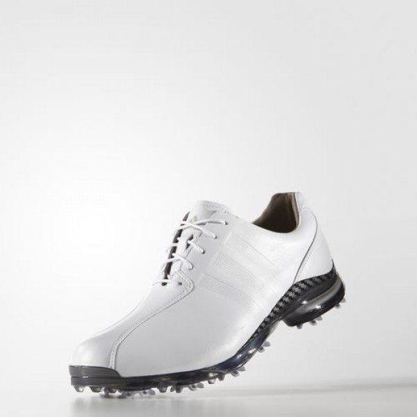 Adidas Adipure Tp Homme Footwear White/Dark Silver Metallic Golf Chaussures NO: Q44673