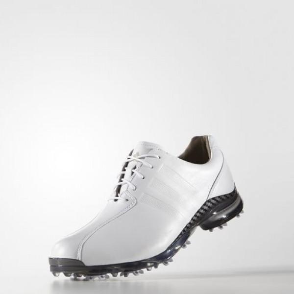 Adidas Adipure Tp Homme Footwear White/Dark Silver Metallic Golf Chaussures NO: Q44673