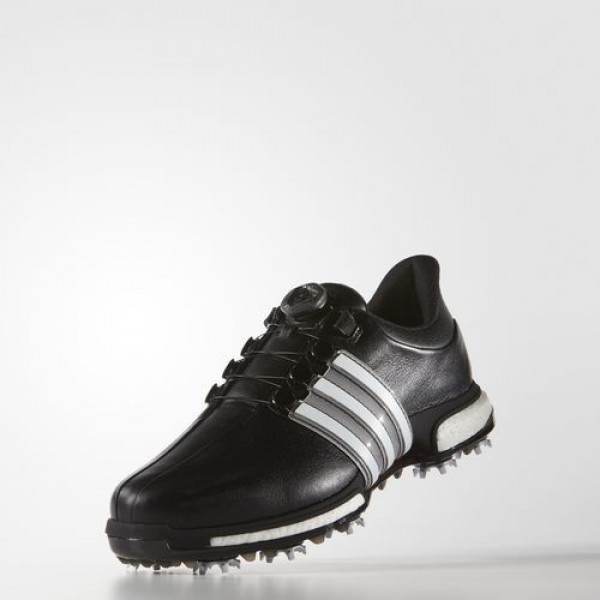 Adidas Tour 360 Boa Boost Homme Core Black/Footwear White/Power Red Golf Chaussures NO: F33410