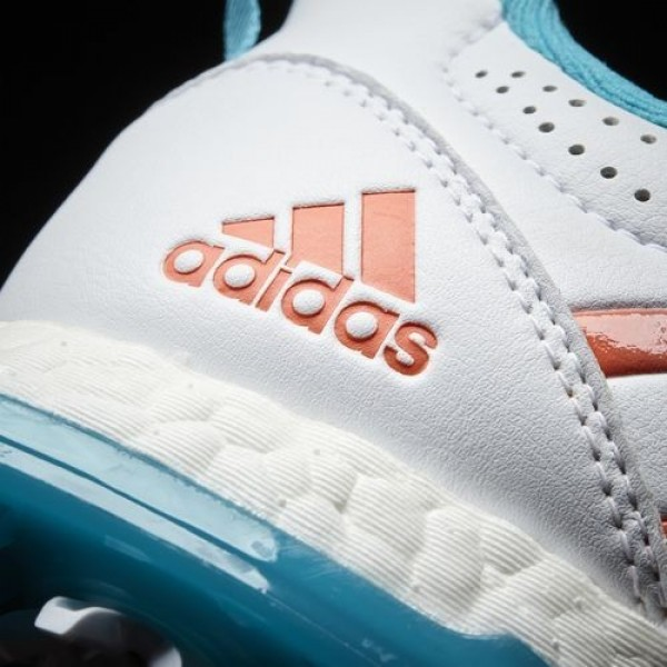 Adidas Adipower Boost Boa Femme Footwear White/Energy Blue/Easy Coral Golf Chaussures NO: Q44746