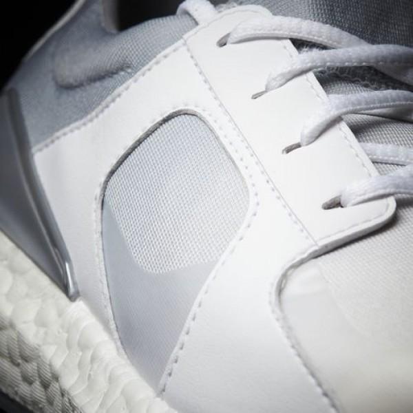 Adidas Climacross Boost Femme Footwear White/Light Onix/Silver Metallic Golf Chaussures NO: F33539