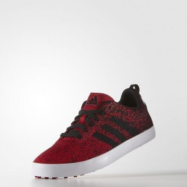 Adidas Adicross Primeknit Homme Power Red/Core Black/Footwear White Golf Chaussures NO: F33353
