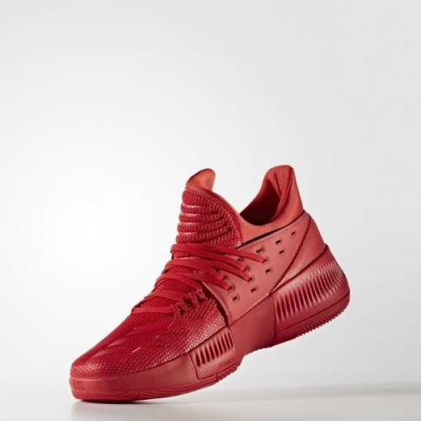Adidas Dame 3 Roots Homme Scarlet Basketball Chaussures NO: BB8337