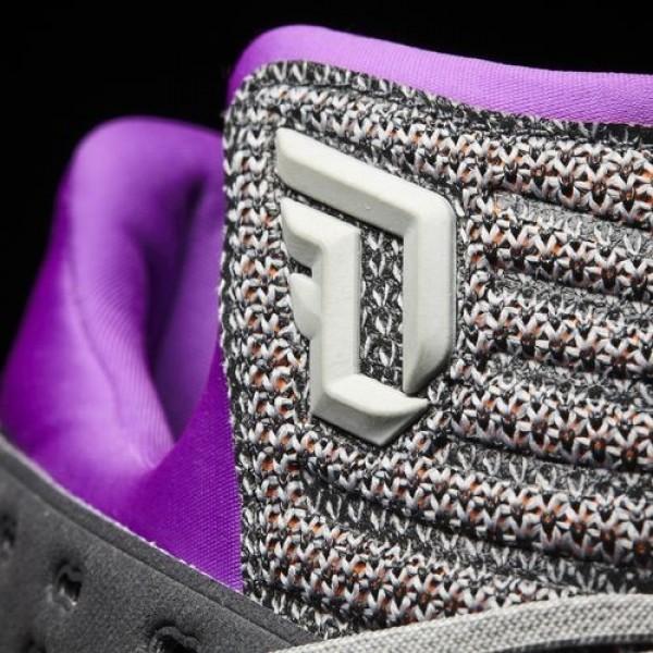 Adidas Dame 3 Homme Medium Grey Heather Solid Grey/Silver Metallic/Dark Grey Heather Solid Grey Basketball Chaussures NO: BB8270