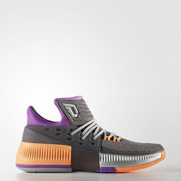 Adidas Dame 3 Homme Medium Grey Heather Solid Grey...