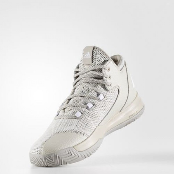 Adidas Chaussures Rise Up 2017 Homme Clear Brown/Footwear White/Light Brown Basketball Chaussures NO: BW0496