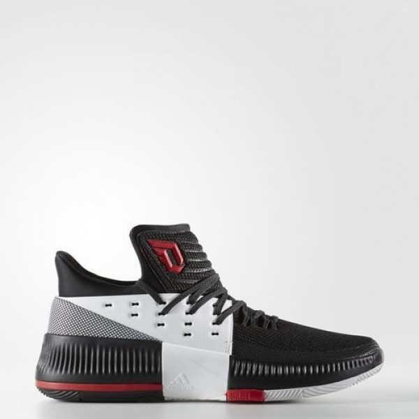 Adidas Dame 3 On Tour Homme Core Black/Utility Bla...