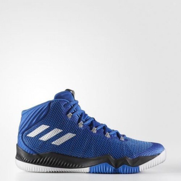 Adidas Crazy Hustle Homme Collegiate Royal/Silver ...