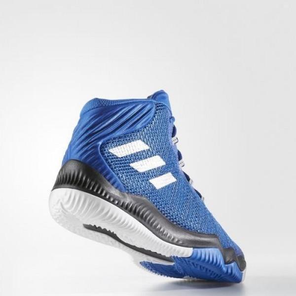Adidas Crazy Hustle Homme Collegiate Royal/Silver Metallic/Blue Basketball Chaussures NO: BB8341