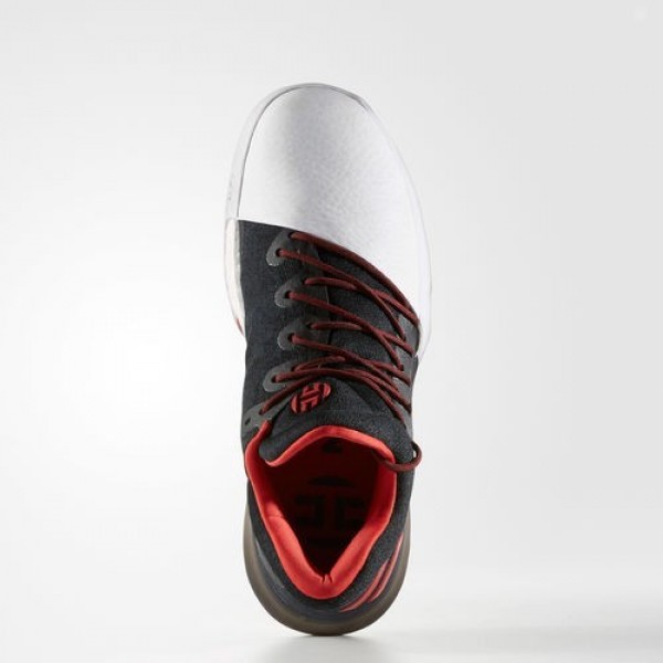 Adidas Harden Vol. 1 Homme Medium Grey Heather Solid Grey/Dark Grey Heather Solid Grey/Silver Metallic Basketball Chaussures NO: BW0549