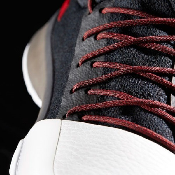 Adidas Harden Vol. 1 Homme Core Black/Scarlet/Footwear White Basketball Chaussures NO: BW0546
