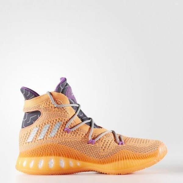 Adidas Crazy Explosive Primeknit Homme Glow Orange...