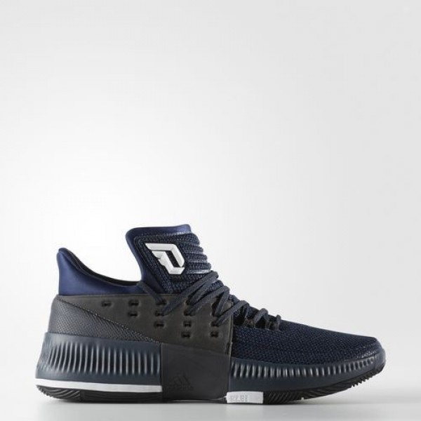 Adidas Dame 3 Homme Mystery Blue/Core Black/Footwe...