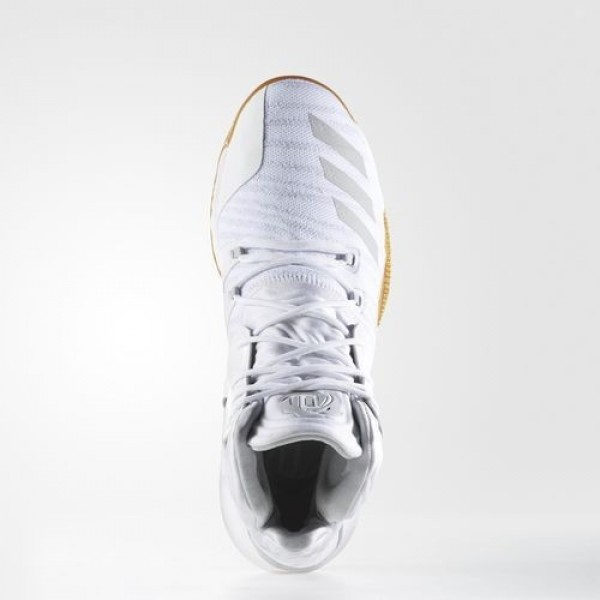 Adidas D Rose 7 Primeknit Homme Footwear White/Cardboard Basketball Chaussures NO: B49512