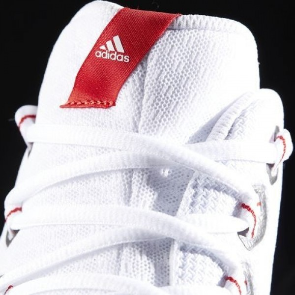 Adidas Energy Bounce Homme Footwear White/Reflective/Scarlet Basketball Chaussures NO: BB8349