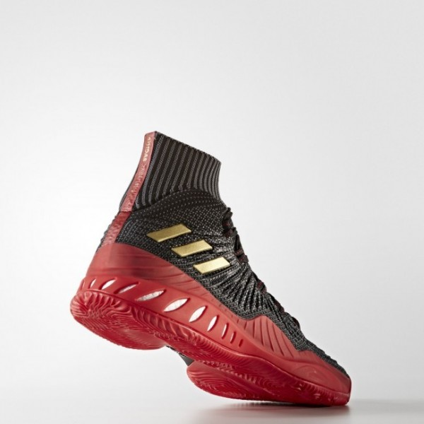 Adidas D Rose 7 Primeknit Homme Core Black/Orange Solid/Utility Black Basketball Chaussures NO: B49511