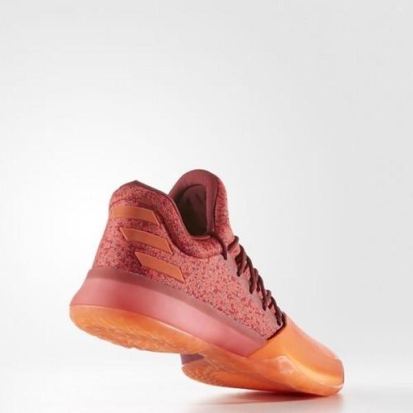 Adidas Harden Vol. 1 Homme Scarlet/Energy/Collegiate Burgundy Basketball Chaussures NO: B39501
