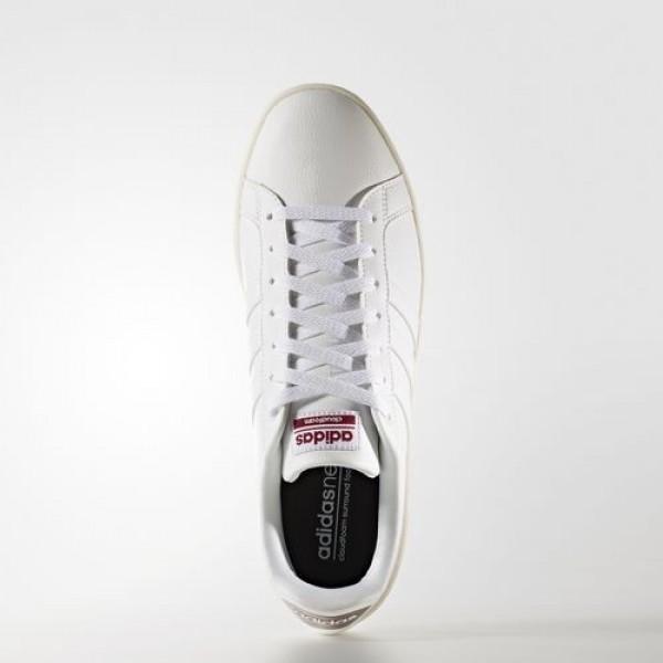 Adidas Cloudfoam Advantage Homme Footwear White/Collegiate Burgundy neo Chaussures NO: AW3924