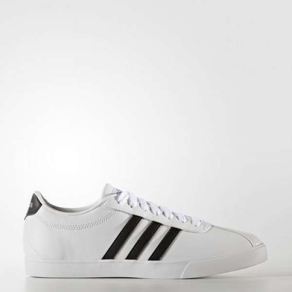 Adidas Courtset Femme Footwear White/Core Black/Matte Silver neo Chaussures NO: B74559