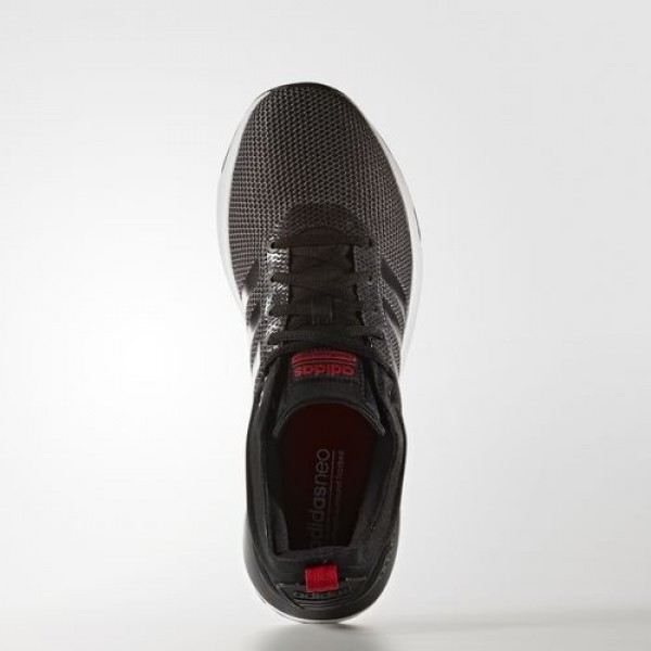 Adidas Cloudfoam Super Racer Homme Dark Grey Heather Solid Grey/Core Black/Scarlet neo Chaussures NO: AW4163