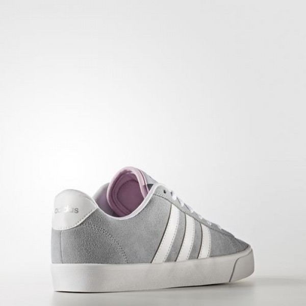 Adidas Cloudfoam Daily Qt Femme Clear Onix/Footwear White/Matte Silver neo Chaussures NO: AW4217