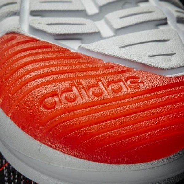 Adidas Cloudfoam Super Flex Homme Core Black/Footwear White/Solar Red neo Chaussures NO: AW4175