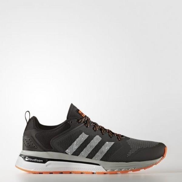 Adidas Cloudfoam Super Flyer Homme Dark Grey Heather Solid Grey/Footwear White/Solar Orange neo Chaussures NO: AW4160