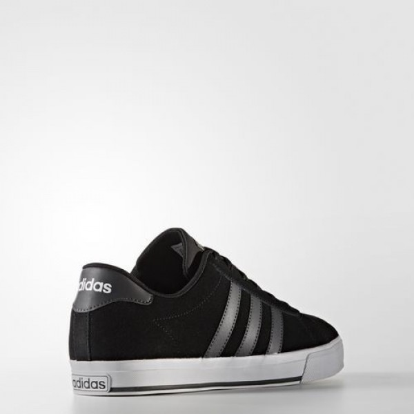 Adidas Daily Homme Core Black/Dark Grey Heather Solid Grey/Footwear White neo Chaussures NO: B74477