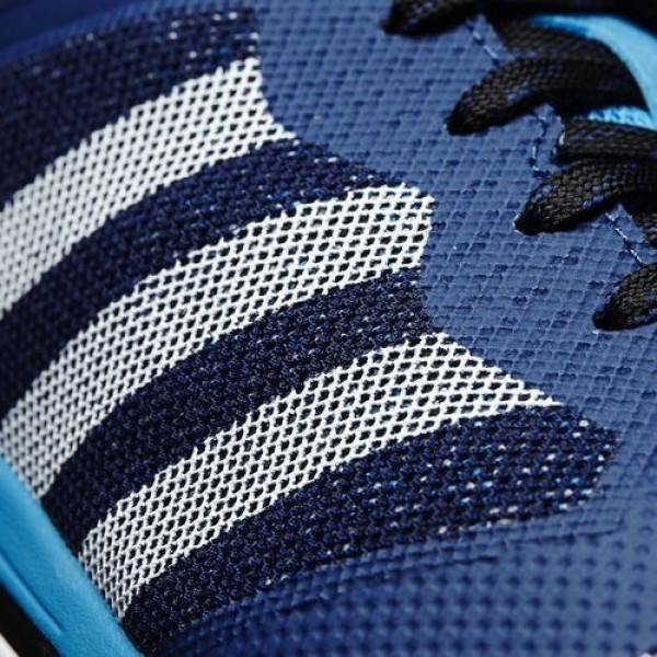 Adidas Cloudfoam Super Flyer Homme Mystery Blue/Core Black/Solar Blue neo Chaussures NO: AW4161