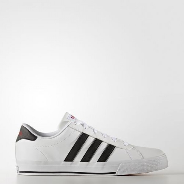 Adidas Daily Homme Footwear White/Core Black/Scarl...