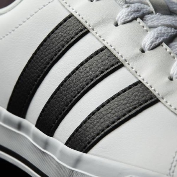 Adidas Daily Homme Footwear White/Core Black/Scarlet neo Chaussures NO: B74478