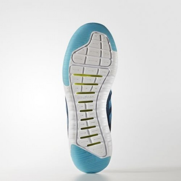 Adidas Cloudfoam Super Flex Homme Collegiate Navy/Solar Blue/Footwear White neo Chaussures NO: AW4174