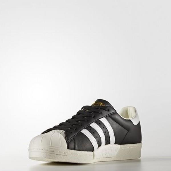 Adidas Superstar Boost Femme Core Black/Footwear White/Gold Metallic Originals Chaussures NO: BB0189