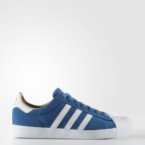 Adidas Superstar Vulc Adv Homme Core Blue/Footwear...