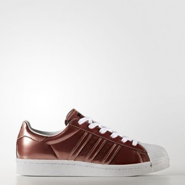 Adidas Superstar Boost Femme Copper Metallic/Footw...