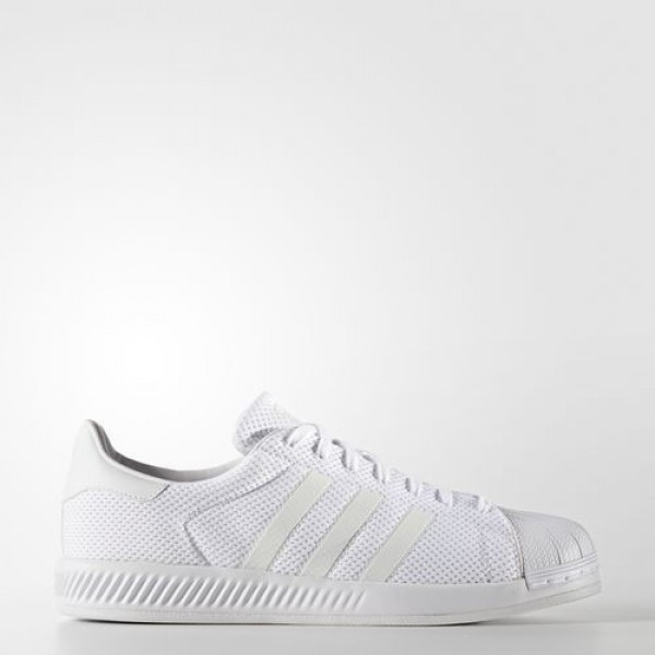 Adidas Superstar Bounce Homme Footwear White Origi...