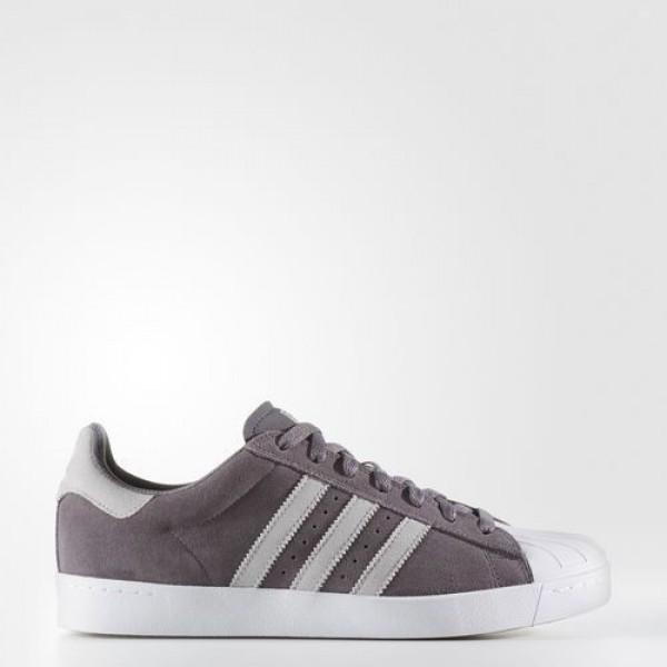Adidas Superstar Vulc Adv Homme Trace Grey/Lgh Sol...