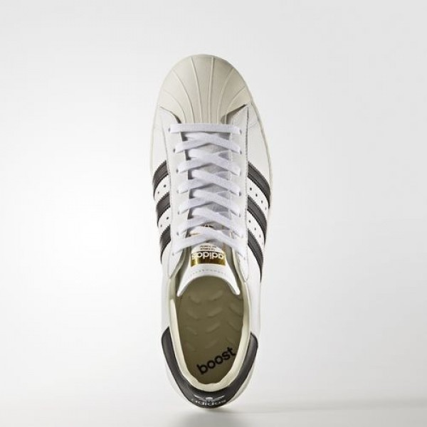 Adidas Superstar Boost Homme Footwear White/Core Black/Gold Metallic Originals Chaussures NO: BB0188