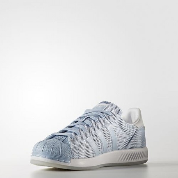 Adidas Superstar Bounce Femme Easy Blue/Footwear White Originals Chaussures NO: BB2941