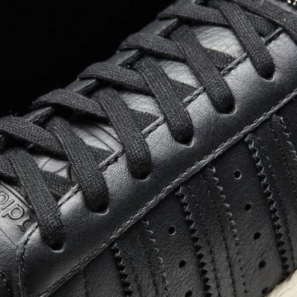 Adidas Superstar 80S Femme Core Black/Off White Originals Chaussures NO: BB2033