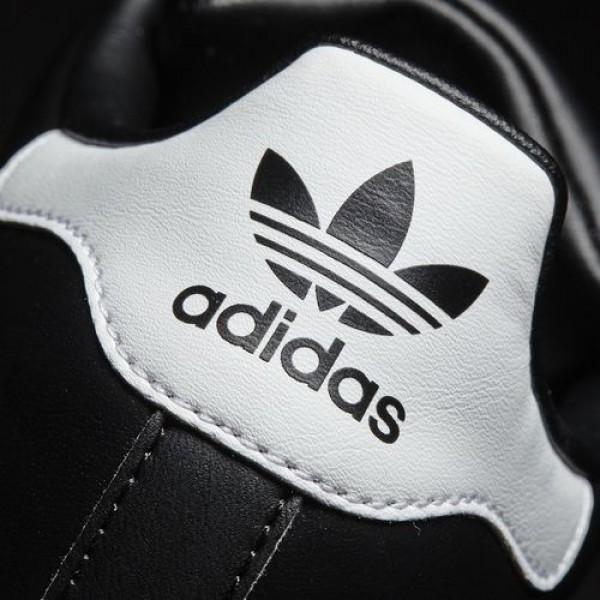 Adidas Superstar 80S Femme Core Black/Footwear White/Gold Metallic Originals Chaussures NO: BB5115