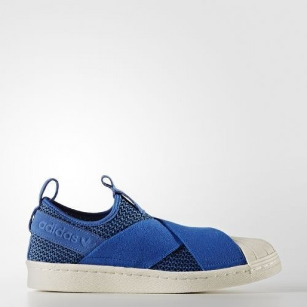 Adidas Superstar Slip-On Femme Blue/Off White Orig...
