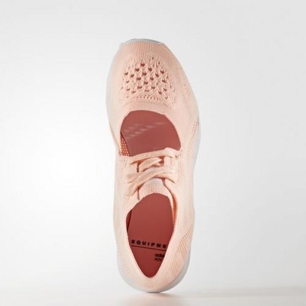 Adidas Eqt Racing 91 Primeknit Femme Haze Coral/Footwear White/Sub Green Originals Chaussures NO: BB2349