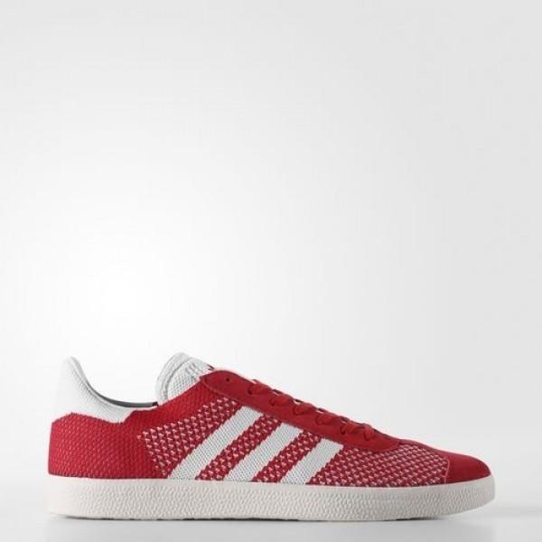 Adidas Gazelle Primeknit Homme Scarlet/Footwear Wh...